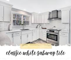 Subway Tiles Kitchen Backsplash Ideas Kadilak Homes Real Estate Home Renovation Burlington Ma