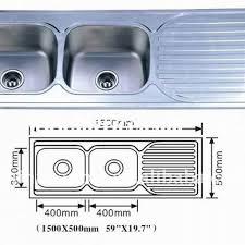 standard bowl kitchen sink size http yonkou tei net