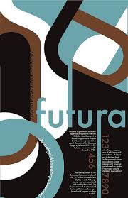 Jenny Johns Typography Font Poster Design For The Futura