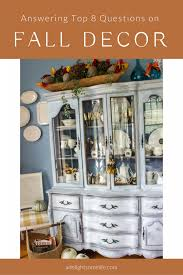 Answering Your Top 8 Questions On Fall Decor