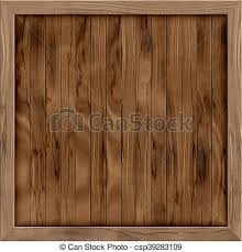 Wood Crate Generated Hires Texture Stock Illustration