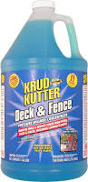 Cleaning Decking With Oxygen Bleach by Amazon Com Krud Kutter Df01 Blue Pressure Washer Concentrate Deck