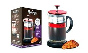Red Coffee Maker Walmart Press Max Brew Stainless Bella Keurig