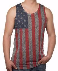 American Flag Tank Top Burnout Graphic Muscle Tee Shirt S M L XL XXL 2XL