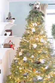 Christmas Tree Shop Natick Massachusetts by Our Gold Silver Christmas Tree Decorated Family Room Four