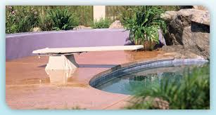 Diving Boards And Slide Options For Inground Swimming Pools