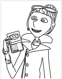 Despicable Me Coloring Pages Lucy