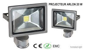 projecteur exterieur avec detecteur de presence projecteur extérieur led cob arlon 50 w avec detecteur de presence