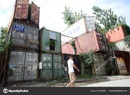 100 Homes Shipping Containers Pedestrian Walks Cluster Container Pudong
