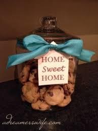 Cookie Jar Housewarming Gift Glass At Target 10 Ribbon Tag