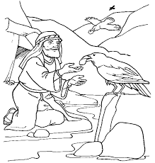 Elijah Widow Coloring Pages
