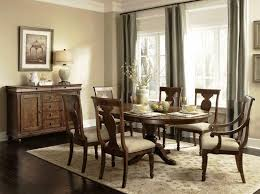 Full Image Dining Room Rustic Decorating Ideas Small Brown Varnishes Square Oak Wood Table Shabby White
