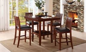 38900 5Pcs Counter Height Set Dining Table