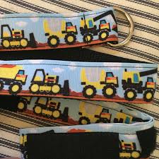 100 Tough Trucks Childs Dring Selfclosing Ribbon Belt Size 18M2T