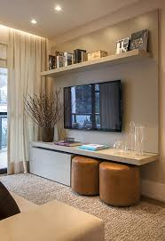 Like The TV Stand With Shelf And Storage For A Wall Mounted