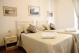 Naxos Double twin beds room B&B Evelyne