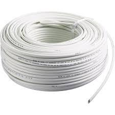 câble électrique rj45 gris l 100 m leroy merlin