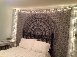 Bedroom Tapestry With Lights