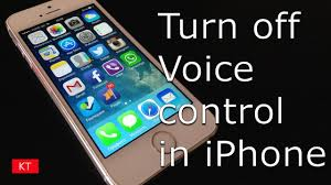 How to turn off voice control in iPhone 5 5s 6 6s 7 7s