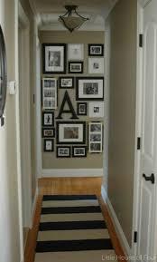 small hallway decor framed photos best decorating ideas on