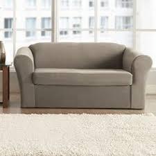 Sears Sofa Covers Canada by Serta 2 Piece Stretch Grid Box Sofa Slipcover Gray Serta Http