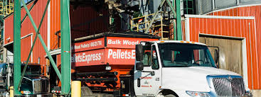 100 Royal Express Trucking Bulk Wood Pellets Wood Pellet Delivery In PA Energex