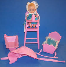 Sears Barbie Doll Baby Sits Babysits 7882 Near Complete High Chairs ... Pepperonz Set Of 8 New Born Baby Dolls Toy Assorted 5 Mini American Plastic Toys My Very Own Nursery Doll Crib Walmart Com You Me Wooden Highchair R Us Lex Got Vintage 1950s Amsco Metal Pink With Original High Chair Best Wallpaper Jonotoys Baby Doll High Chair 14 Cm Blue Internettoys Dressups Jeronimo For Sale In Johannesburg Id Handmade Primitive Wood 1940s Folk Art Preloved Stroller And Babies Kids Shop Jc Toys Online Dubai Abu Dhabi All Uae That Attaches To Table Home Decoration