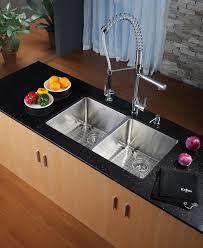19 X 33 Drop In Kitchen Sink by Stainless Steel Kitchen Sink Combination Kraususa Com