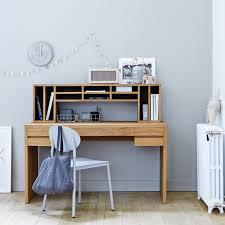 bureau teck massif bureau en teck meuble informatique en bois massif tikamoon