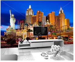 individuelle fototapeten großes wandbild las vegas nacht bau vinyltapeten papel de parede für das wohnzimmer tv wand