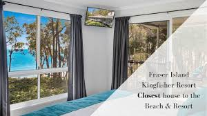 100 Absolute Beach Front 681 Kingfisher Resort Fraser Island The Only House