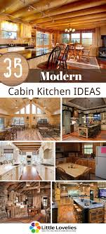 35 cabin kitchen ideas that will inspire your