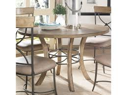 100 Round Oak Kitchen Table And Chairs Hillsdale Charleston Wood W Metal Pedestal Ring
