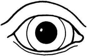 Real Boy Eye Coloring Pages