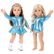 Super Skater 2 Complete Ice Skating Doll Outfits For 18 Inch Dolls