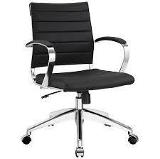Tall Office Chairs Amazon by Amazon Com Modway Jive Ribbed Mid Back Executive Office Chair