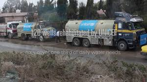UNICEF Water Trucking In Damascus - YouTube Water Trucking Companies Best Image Truck Kusaboshicom Home Valew St George Utah Hauling Fuel New Trucks Will Make Water Rcues Quicker Winnipeg Free Press Trucks Alburque Mexico Clark Equipment Big Rock Service Ltd Wagner Bulk Delivery Parked Tanker Supply Truck Mumbai Cityscape India Stock Superior Mike Vail 1986 Freightliner Flc Beeman Sales Services Aberdeen Sd And Sewer Site Preparation And Blue Michigan Freight
