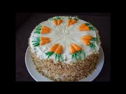 How To Decorate a Carrot Cake