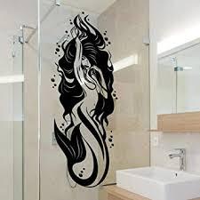 artaslf badezimmer bad wandtattoo vinyl mermaid