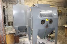 trinco abrasive blast cabinet model 48x36 pc s n 55489 1 with