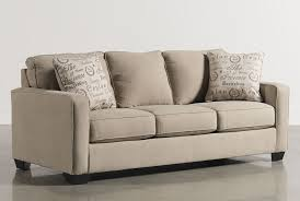 Milari Linen Sofa Sleeper by Living Spaces Sleeper Sofa Tourdecarroll Com