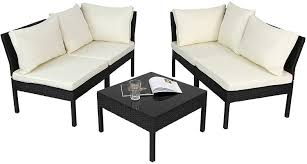 sitzgruppe für 4 personen lounge terrasse und outdoor