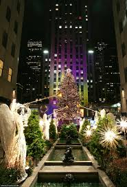 Rockefeller Center Christmas Tree Lighting 2014 Live by History Of The Rockefeller Center Christmas Tree Daily Mail Online