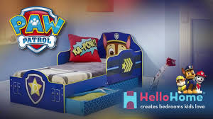 Mickey Mouse Clubhouse Toddler Bed by Paw Patrol Chase Toddler Bed By Hellohome Youtube