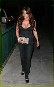 Andrea Tantaros Halloween by Jessica Simpson Busts Out Of Parc Photo 113311 Jessica Simpson