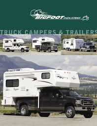2006 Bigfoot Truck Campers Trailers Brochure | RV Brochures Download Truck Campers Kings Wiscoins Most Trusted Rv Dealer Dazzling Home Built Camper Plans 6 The 216 Best Pick Up Images How To Build Your Own Homemade Diy Mobile Rik Semitruck Campinstyle 2011 Northwood Arctic Fox Reno Nv Us 34500 Rv Net Forum Luxury Open Roads Alaskan Truck Camper Youtube New Phoenix Pop Up Catching Another Bloggers Eye Live Really Cheap In A Pickup Financial Cris Dangers Of Driving Lifted