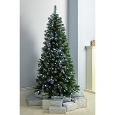 6ft Slim Christmas Tree by Werchristmas Pre Lit Slim Frosted Christmas Tree With 200 White