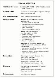 Professional Summary For Student Resumes Example A Highschool First Job Glodinql Doug Weston