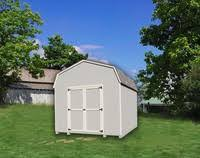 10x12 Barn Shed Kit by Little Cottage Co Value Gambrel Barn 8 U0027 X 14 U0027 Storage Shed Kit