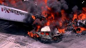 Happening Now: 2-11 Alarm Fire At The Crash Involving Multiple Cars ... Iteam Dissecting The Fatal I80 Truck Pileup Abc7chicagocom Raw Metra Train Truck Collide In Bartlett Nbc Chicago Accidents Create Need For Changes At Gurnee Tollway Exit Pin By The Reinken Law Firm On Pinterest Trucks How Illinois Drivers Can Avoid Personal Video Shows Train Derailment Nike Bait Norfolk Southern Apologizes Sting Vox Driver Killed I294 Rollover Crash Near Ohare Airport Athletic Club Spin Instructor Mother Identified As Woman In Fatal Fire Photos Milwaukee Crash Rescue Vehicle Turns Over White Trailer After Accident Against Blue Sky Stock Image Traffic With Accident And Trucker Cb Chatter Youtube